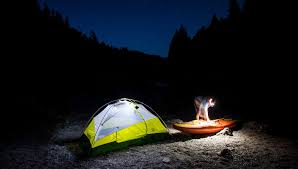 Camping in the woods at night Pexels Fish Face Worst Night In The Woods Camping Horror Stories