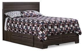 Queen Size Bedroom Furniture Beds The Brick