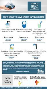 top 5 ways to save water in your home