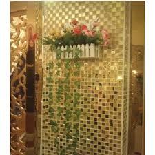 mirror tile backsplash gold crystal glass mosaic wall tiles shower design bathroom mirrored tile