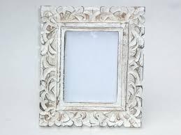 vintage white washed wooden photo frame leaf enlarge image antique picture frames wood antique white picture frames