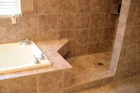 Custom Tile Shower w/ tile tub surround