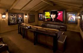 Simple Modern Design Inspiration For Your Home : Contemporary Media Room Is  A .