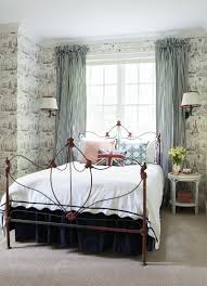Paris Themed Wallpaper For Bedroom Savoir Faire A Francophiles Buckhead Home Reflects A World Of