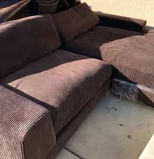 corduroy couch l shaped corduroy sofa