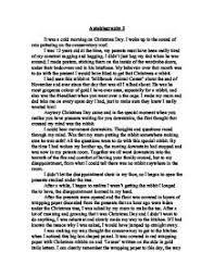 eve descriptive essay christmas eve descriptive essay