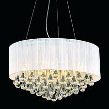 chrome drum chandelier best chandeliers images on dining rooms modern string shade crystal round polished with black white silver 9 lights 23 chan