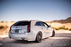 2011 Cadillac CTS-V Wagon On Canyon Run