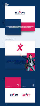 Exxon Logo Designer Exxon Branding Web Design And Development On Behance