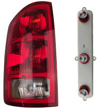 Tailgate Light Bulb Details About Left Tail Light Rear Lamp Taillight With Bulbs Fits 2002 2006 Dodge Ram Pickup
