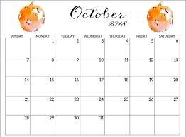 Online Office Calendar Online Cute October 2018 Calendar October 2018 Calendar Calendar