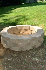 how to build a patio fire pit outdoor fire pit build patio gas fire pit build