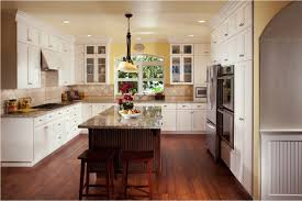 Kitchen With Island Winsome Center Wooden Kitchen Island Feat Granite Countertop With