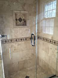 travertine tile bathroom. My Bathroom Renovation! Travertine Tile And Custom, Frameless Shower Doors. Oil Rubbed Bronze Fixtures. R