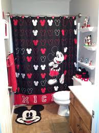 Minnie Mouse Bedroom Curtains Minnie Mouse Bathroom Decor Bathroom Designs