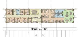 floor plan of the office. 109,000 SF Building Office Floor Plan Of The