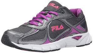 fila running shoes for girls. fila quadrix running shoe dark shadow/dark silver/purple cactus flower women\u0027s shoes sports for girls s