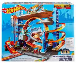 <b>Автотрек Mattel Hot Wheels</b> City Невообразимый гараж FTB69