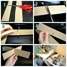 diy drawer dividers cardboard using cardboard to make drawer dividers then you could contact paper on