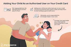 The minimum age of an authorized user varies depending on the credit card issuer. Adding Your Child As A Credit Card Authorized User