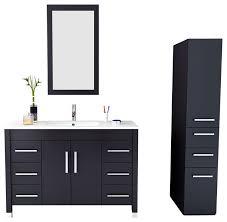 homely ideas 47 inch bathroom vanity minimalist single vanities also top with cabinet