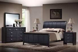 Wholesale Interiors Baxton Studio Kima Black Queen 40 Piece Wooden Inspiration Black Contemporary Bedroom Set