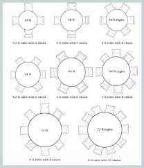 seat dining table dimensions person 6 chairs round size for 10 d