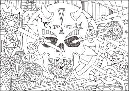 Small Picture Free Printable Psychedelic Coloring Pages glumme