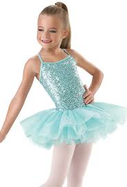 Kids Sequin Tutu Dress Little Stars