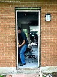 how to repair door frames installing new door frame replace exterior door frame installing a exterior