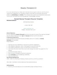 cv for beauty therapist beauty therapist resume sample beauty advisor sample beauty