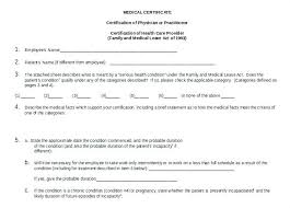Leave Of Absence Form Template Leave Of Absence Template Free Download Doctor Medical