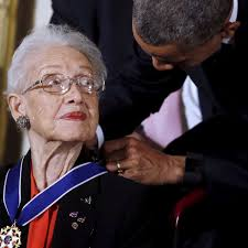 Katherine Johnson, Nasa mathematician portrayed in Hidden Figures, dies at  101 | Nasa | The Guardian