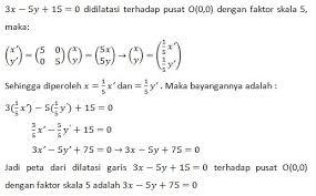 Refleksi contoh soal refleksi 3. Contoh Soal Refleksi Dan Dilatasi Kunci Jawaban