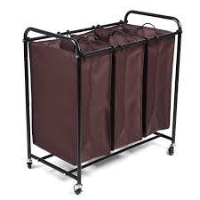 Rolling Laundry Cart. Rolling Laundry Cart And Sorter Antique ...