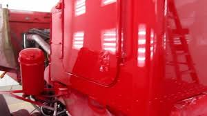 Peterbilt Paint Color Chart Paint Job On Peterbilt 357 Tandem Axle Chassis Vermillion Red Base Clear Coat With Ppg Del Fleet