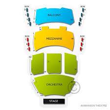 Ahmanson Theatre 2019 Seating Chart