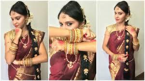 traditional karnataka bridal makeup indian bride pavithra iyer you