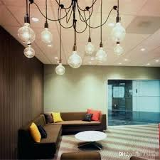 chandelier classic vintage pendant lamp light sockets living room dining ceiling control flush 10 glow sputnik