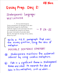 essays on romeo and juliet romeo and juliet exam review the essay  romeo and juliet the nautical homework essay prep metaphor in romeo and juliet