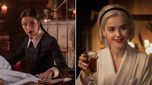 chilling adventures of sabrina s adeline rudolph and kiernan shipka