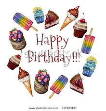 Birthday Ice Cream Clipart
