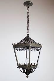 gothic lantern lighting. Gothic Style Single Bulb Brass Lantern Lighting