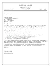 Writing A Resume And Cover Letter 40 Best Cover Letter Examples