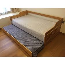 Single Bed Pull Out Trundle Single Bed Frame And Mattress With ...