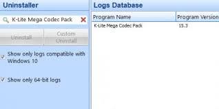 Microsoft windows 10, 8.1, 8, 7, vista, xp, 2000, 2008, & 2003. How To Uninstall K Lite Mega Codec Pack With Revo Uninstaller