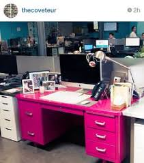 decorate office jessica. Perfectly Pink Desk Decorate Office Jessica