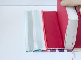 fabric book cover step 4 sew a