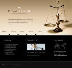 Law Templates Lawyer Website Template 19624