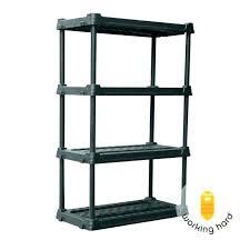 plastic storage shelving standing shelf free standing shelves plastic storage shelves 4 tier freestanding free standing